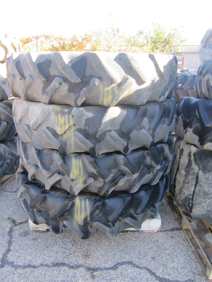 4x Tractor Tyres