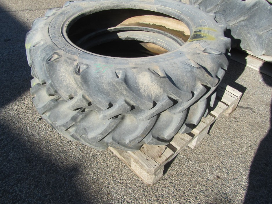 2x Tractor Tyres