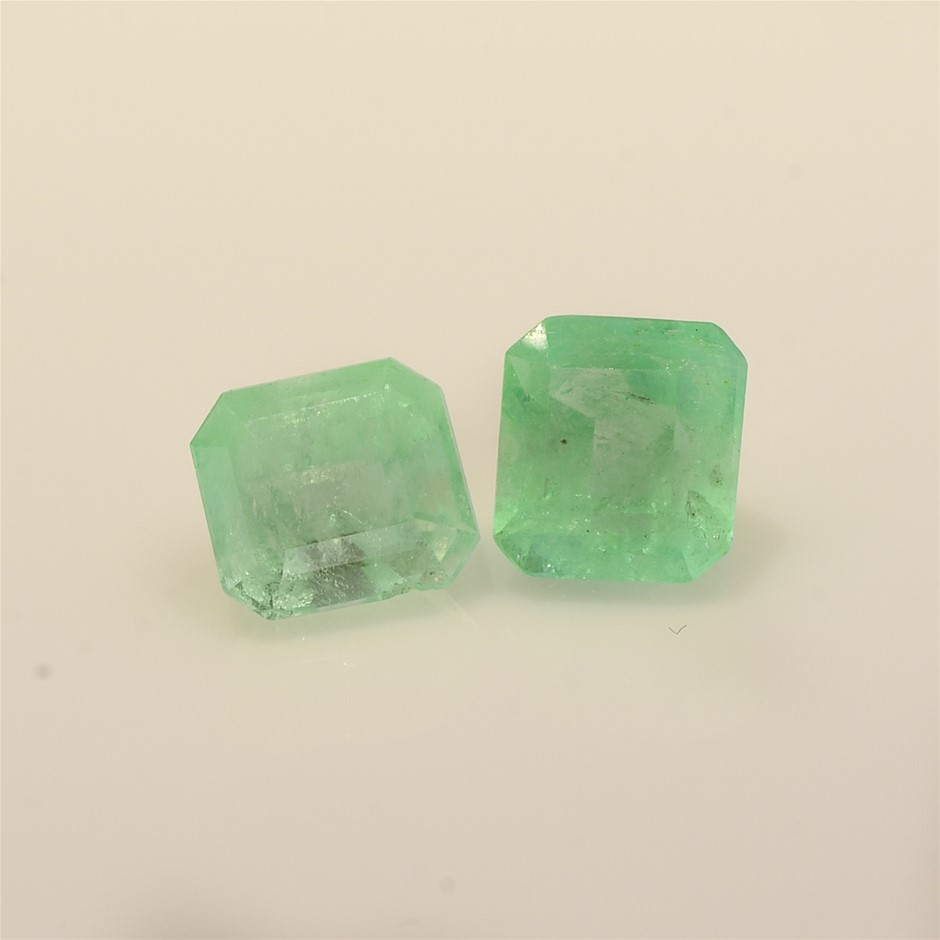 Two Loose Emerald 6.60ct in Total