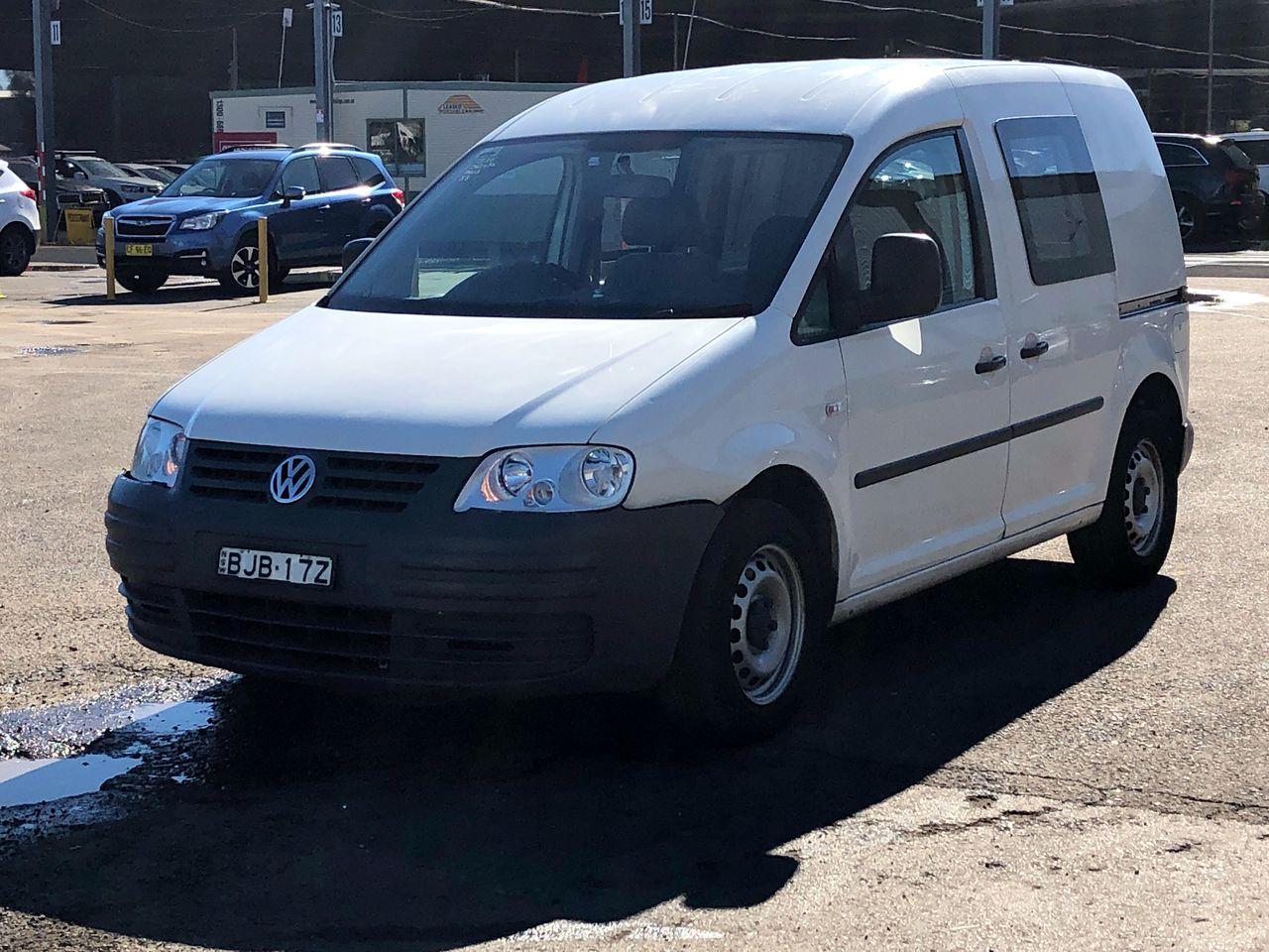 2008 Volkswagen Caddy 1.9 TDI Turbo Diesel Automatic Van