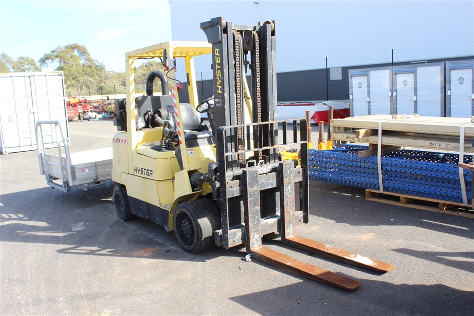 2002 Hyster S100XM Counterbalance Forklift