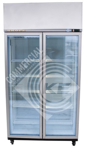 SKOPE GEN UPRIGHT 2 DOOR FREEZER, QUALITY COMMERCIAL KITCHEN EQUIPM