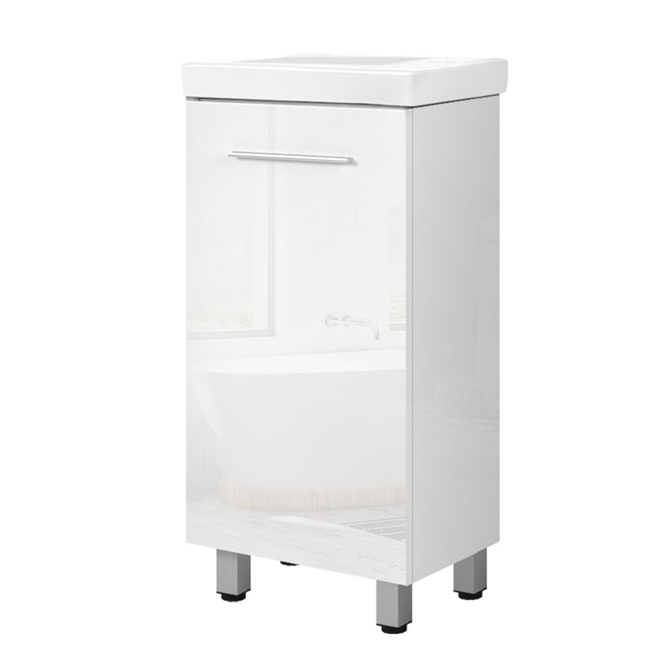 Cefito Bathroom Vanity Cabinet Unit Wash Basin Freestanding 400mm White