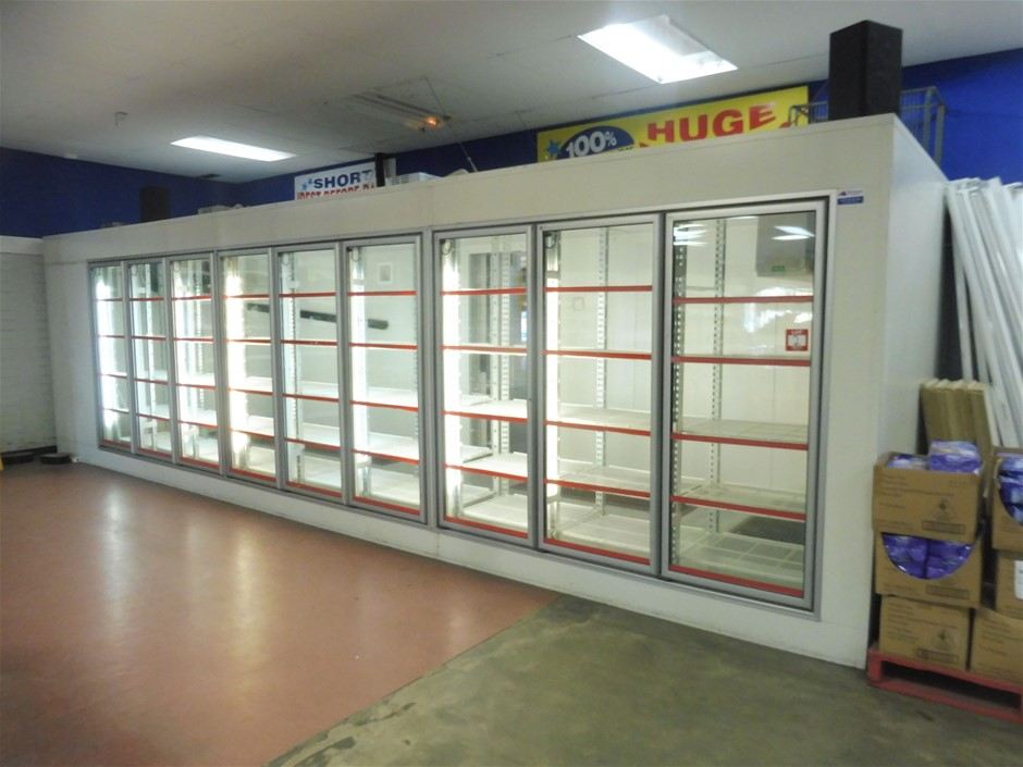 Commercial Display Freezer