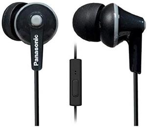Panasonic RPTCM125EK Headphone with Micr