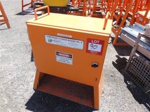 Temporary Power Board, Orange Steel Construction (A-type asset)