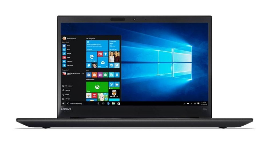 Lenovo ThinkPad P51s 15.6-inch Notebook, Black