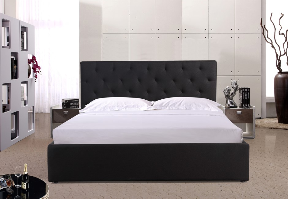Gaslift Bed (Rome) - Queen Size