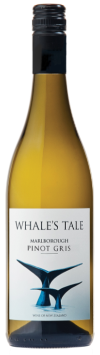 Whales Tale Pinot Gris 2018 (6 x750ml) Marlborough, NZ