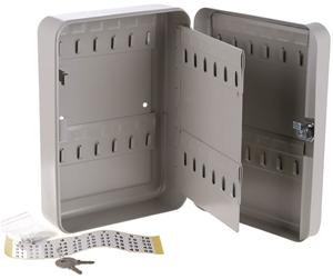 Metal Key Safe, 48 Key Hangers, 250mm x