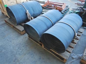Assorted Lengths Of Conveyor Belt
