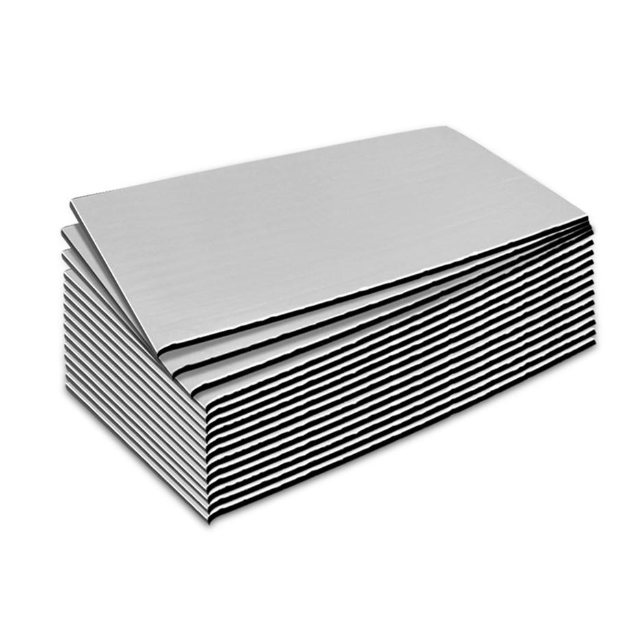 Weisshorn 41sq/ft Car Sound Deadener Butyl Heat Proof Insulation