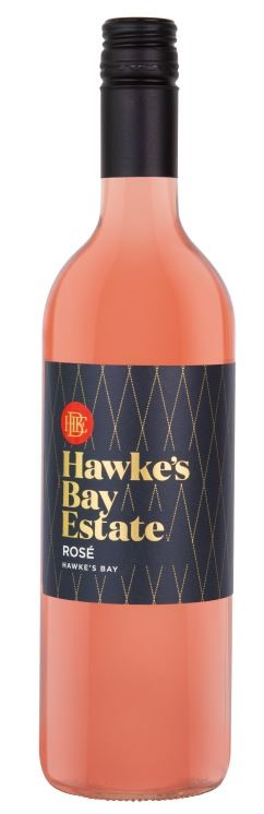 Hawkes Bay Estate Rose 2017 (12 x 750mL) Hawkes Bay NZ. Screwcap Closure.
