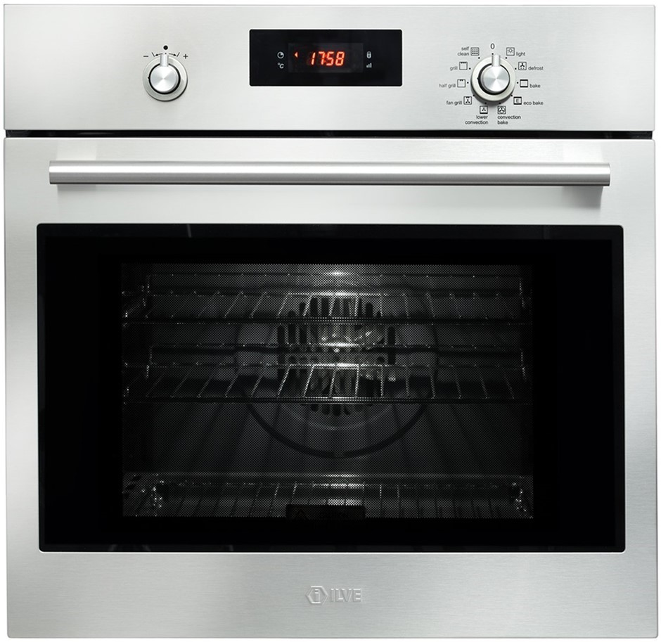 ILVE 60cm Electric Built-In Pyrolytic Oven (600SPYKTI)