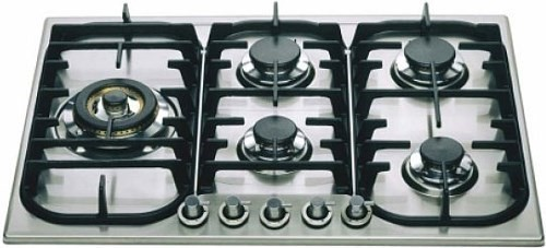 ILVE 70cm Stainless Steel Gas Cooktop (H70SDVX