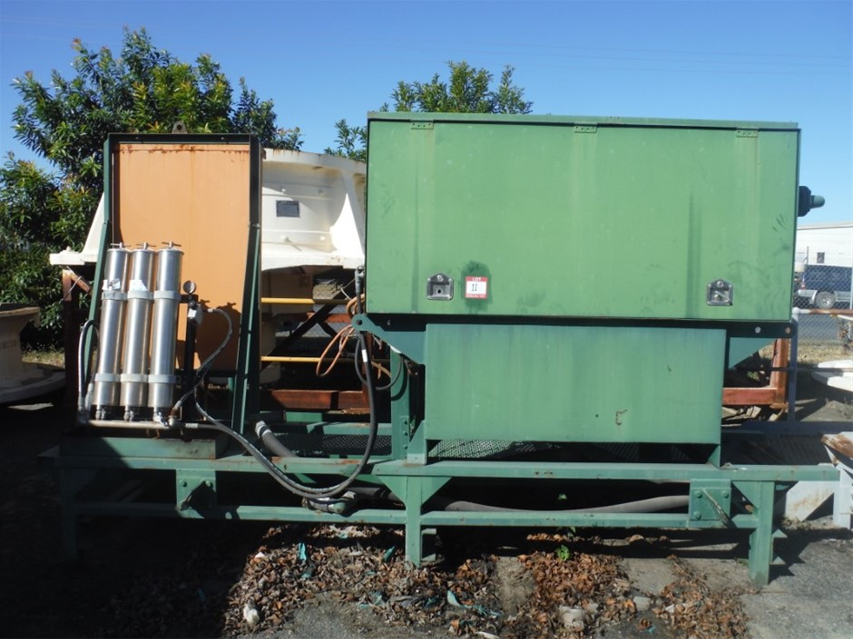 3 x Cone Crushers Unitec Paired with Power Units and Following Parts