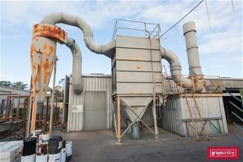 External Dust Extraction Unit