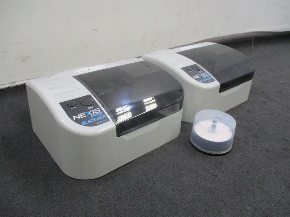 Qty 2 x Nexis Pro Black Jack 21 DVD Disc Media Printers