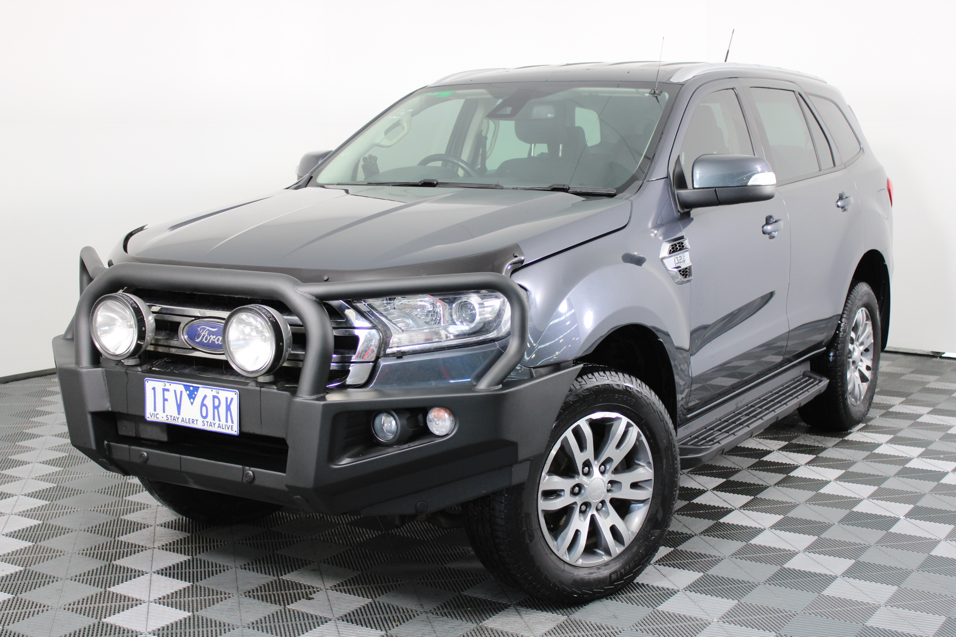 2015 Ford EVEREST Trend UA Turbo Diesel Automatic 7 Seats Wagon
