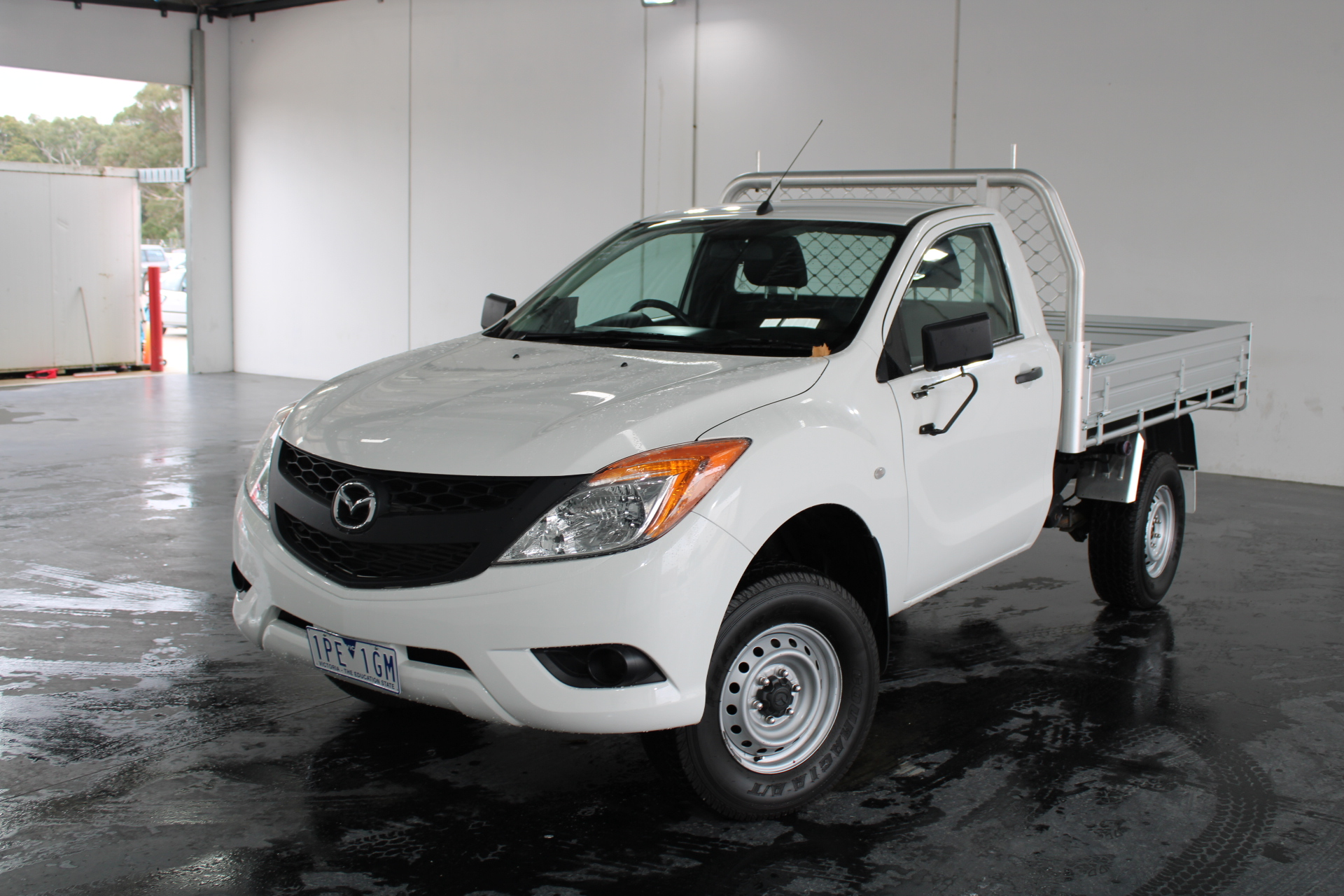 2013 Mazda BT-50 4X2 XT Turbo Diesel Automatic Cab Chassis