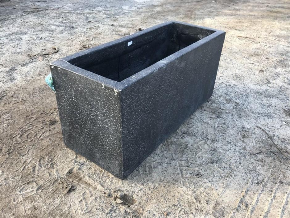 Planter Box, Terrazzo Precintlite, approx 240mm x 300mm x 600mm