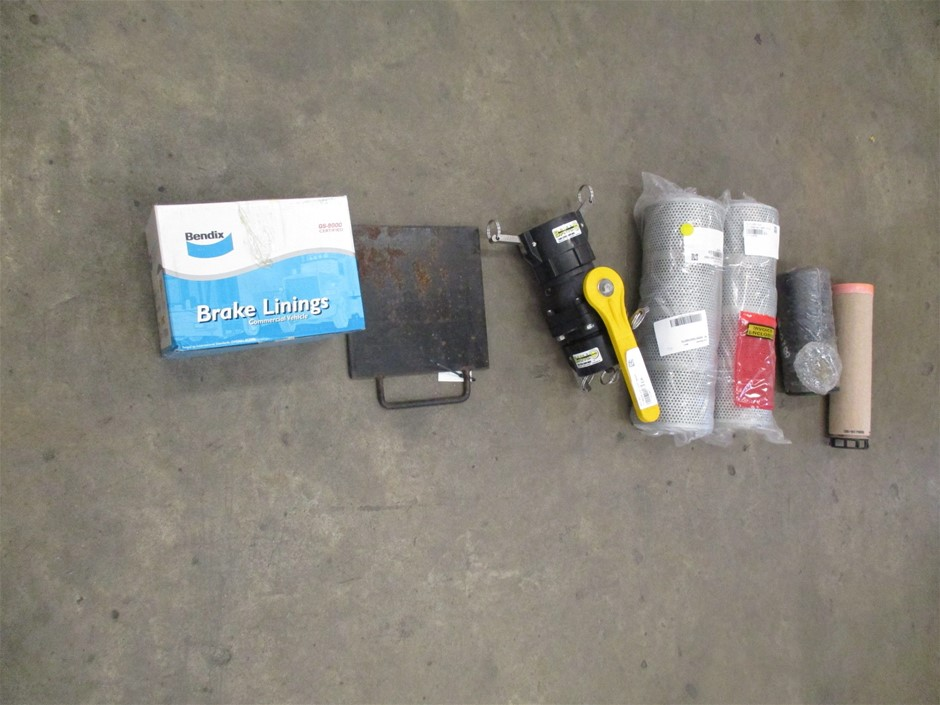 (Lot 172) Qty of Mechanical and Hydraulic Components
