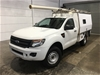 2014 Ford Ranger XL 3.2 (4x4) PX Turbo Diesel Manual Cab Chassis