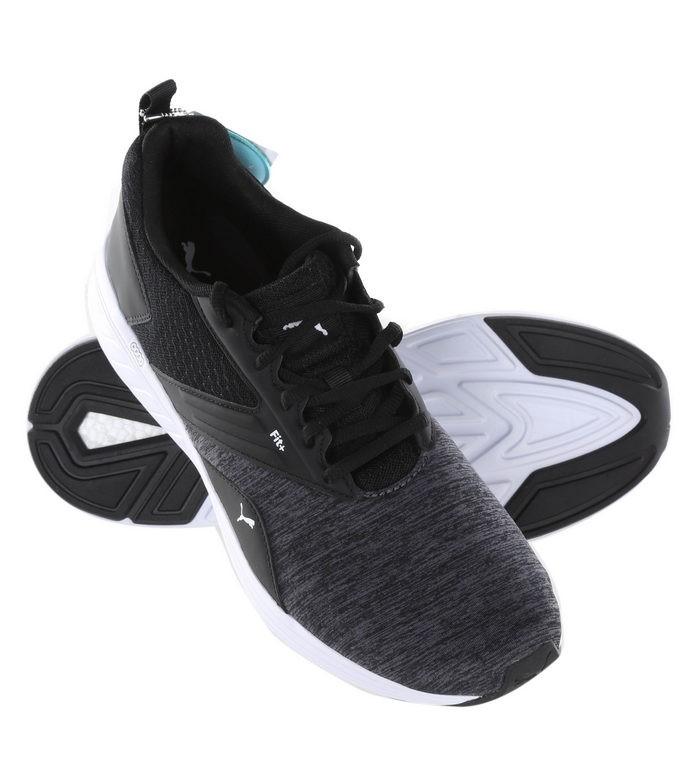 Pair PUMA Men`s Soft Foam Sports Shoes, UK Size 9.5, Black