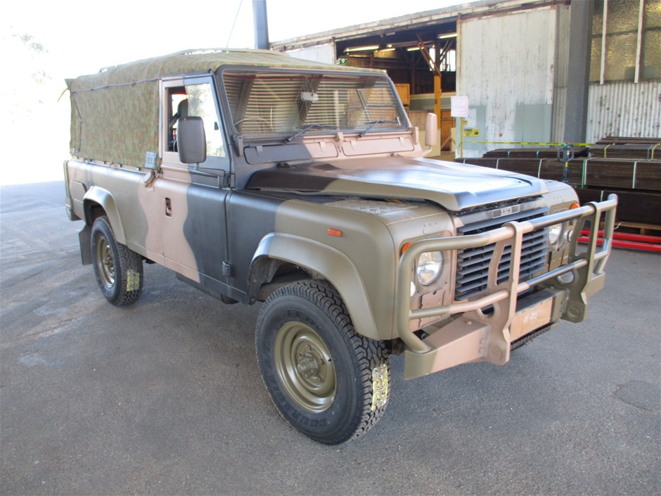 Land Rover 110 4X4 Cargo Soft Top 07/89 - Vic/NSW Roadworthy Certificates