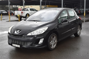 2007 Peugeot 308 XSE Turbo Automatic Hat