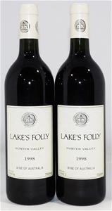 Lake's Folly Cab Sav/Petit Verdot 1998 (