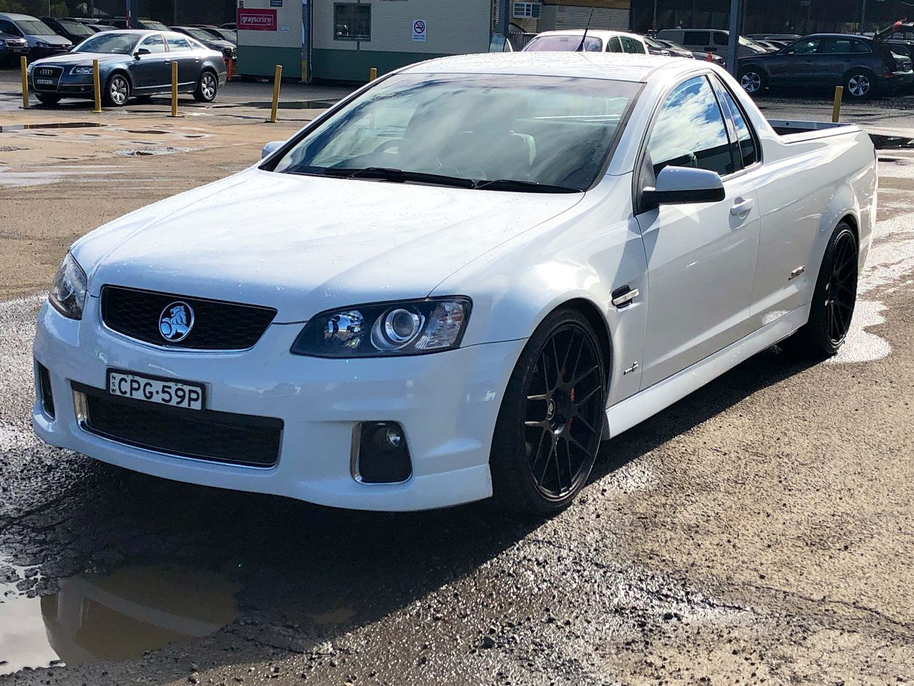 2012 Holden Commodore SS-V VE II Automatic Ute