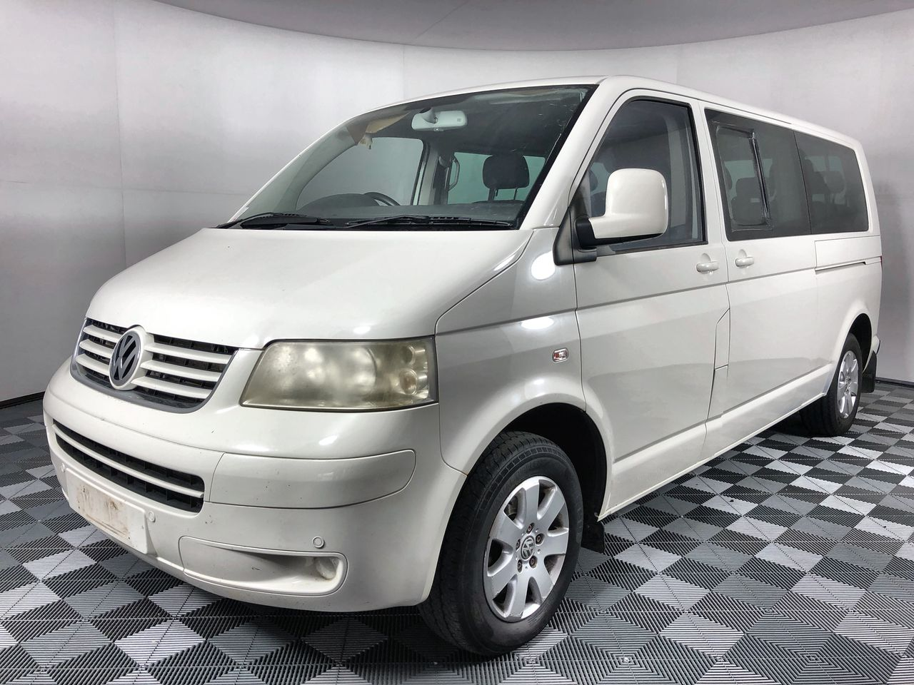 2008 Volkswagen Caravelle LWB T5 Turbo Diesel Auto 9 Seats People Mover