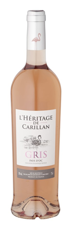 L'Heritage de carillan IGP Gris Rose NV (6 x 750mL) France