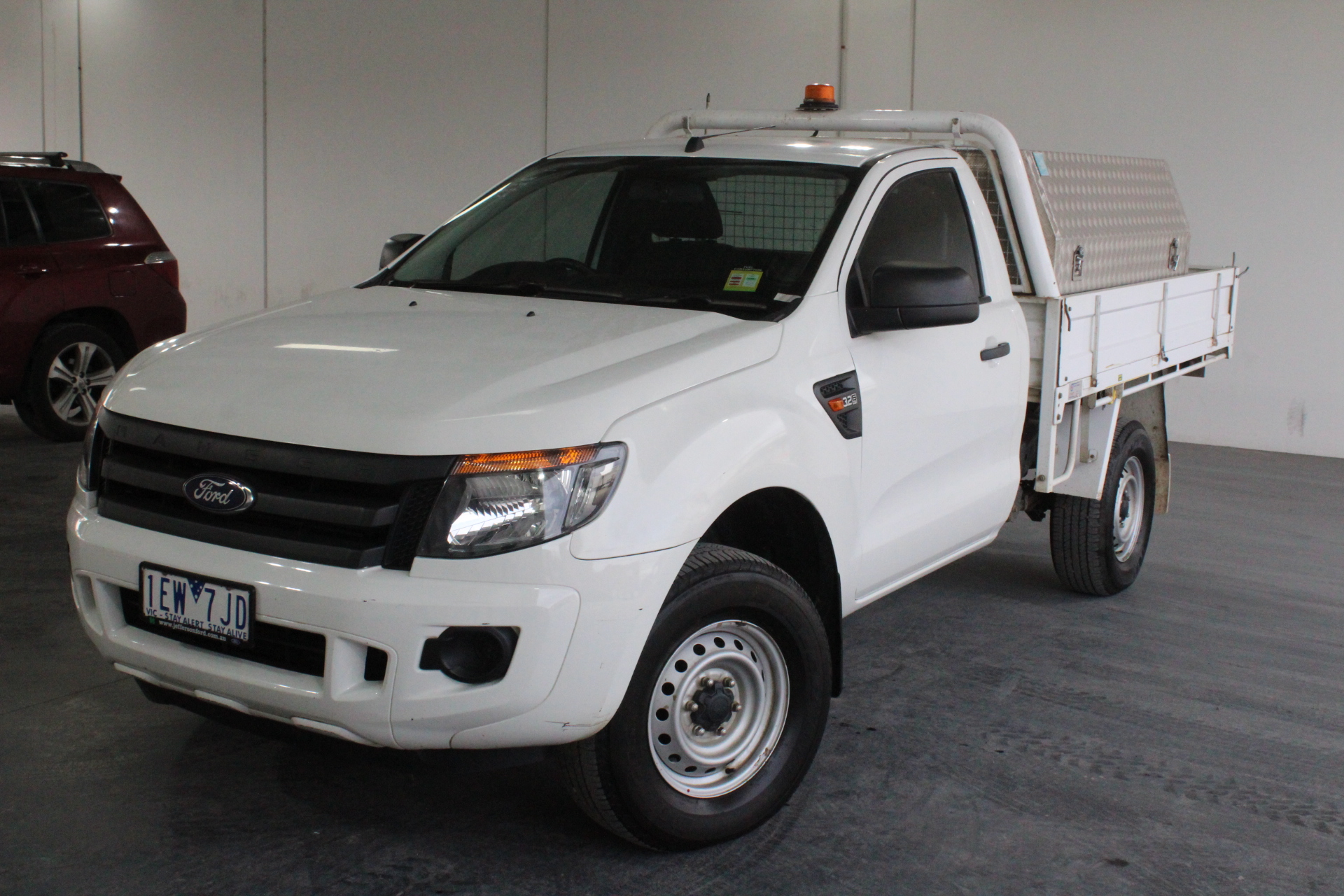 2015 Ford Ranger XL 3.2 (4x4) PX Turbo Diesel Automatic Cab Chassis
