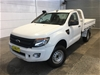 2012 Ford Ranger XL 3.2 (4x4) PX Turbo Diesel Automatic Cab Chassis