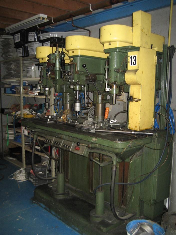 Rochling 3 Station Drill Machine