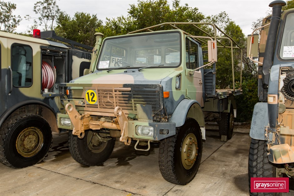 Mercedes Benz Unimog UL1700L Flat Top 4X4 Cargo Truck 05/1988