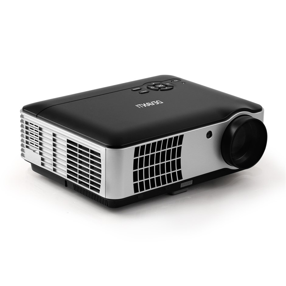Devanti Android Video Projector 4000 Home Theatre 1080HD Bluetooth