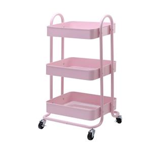 Artiss 3 Tier Rolling Storage Cart Porta
