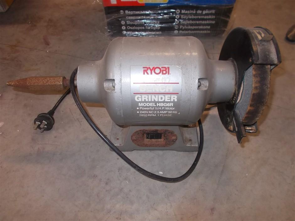 Ryobi HBG6R Bench Grinder