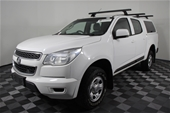 2014 Holden Colorado 4X2 LX RG T Dsl Automatic Dual Cab