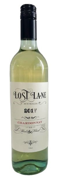 Lost Lane Chardonnay 2017 by James Estate (12 x 750mL) Hunter Valley, NSW