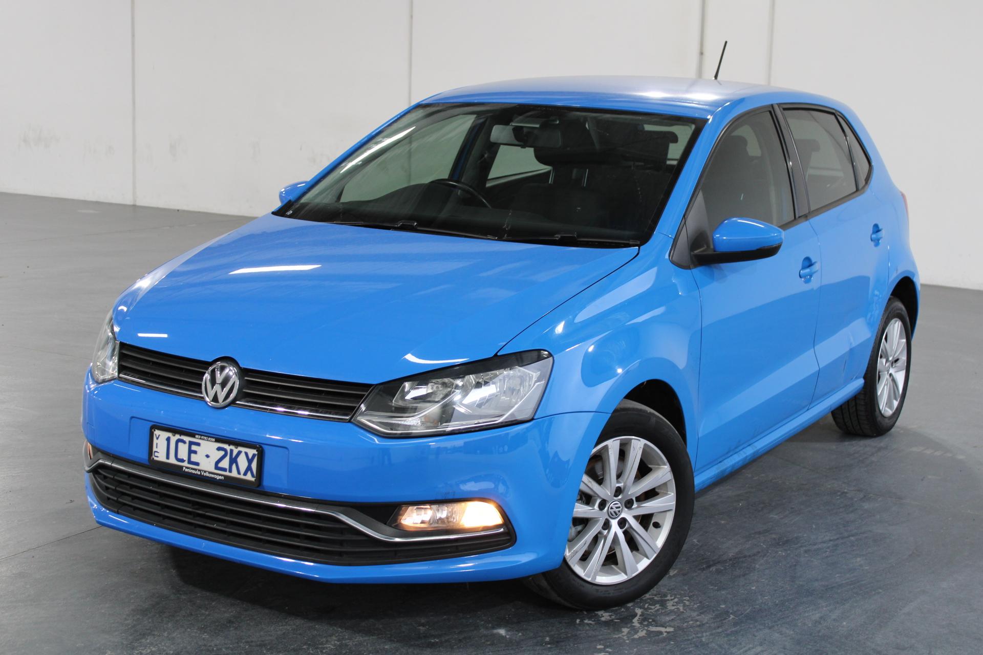 2014 Volkswagen Polo 81TSI COMFORTLINE 6R Automatic Hatchback