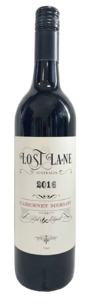 Lost Lane Cabernet Merlot 2016 by James Estate (12 x 750mL) Hunter Valley