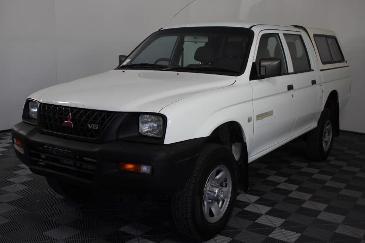 2001 Mitsubishi Triton GLX (4x4) MK Dual Cab