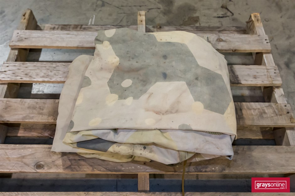 Canvas Canopy to Suit Haulmark 750kg Trailer