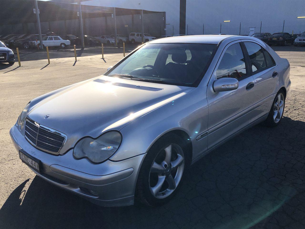 2003 Mercedes Benz C180 Kompressor Classic W203 Automatic Sedan