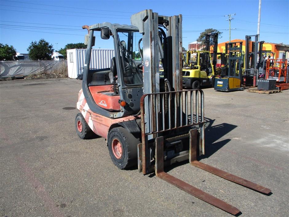 1999 Linde H25 4-Wheel Counterbalance Forklift