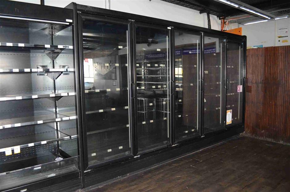 2012 Austral KG22S1FZL-1F 3900 5 Door Shop Display Fridge